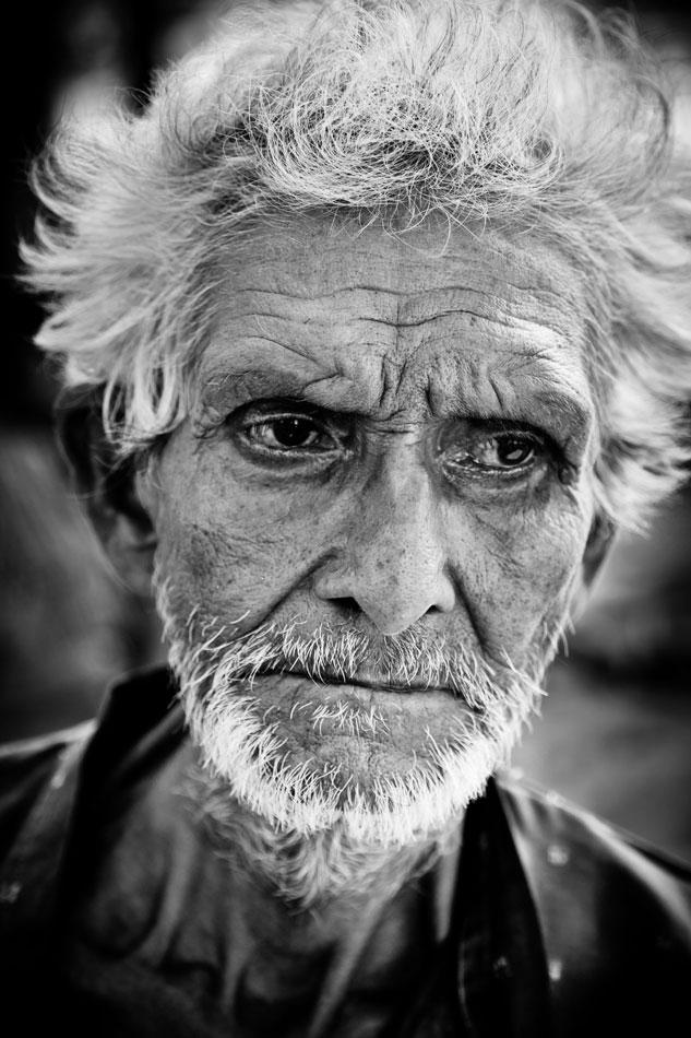 fotografia-de-viaje-retrato-india - retratista blanco y negro - fotógrafo de viajes