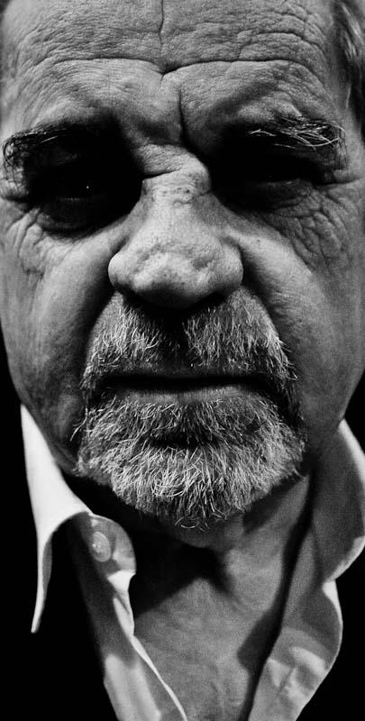 Juan Marse - retrato fotográfico - blanco y negro