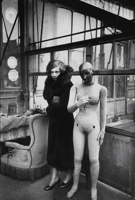Henri Cartier-Bresson Leonor Fini 1933